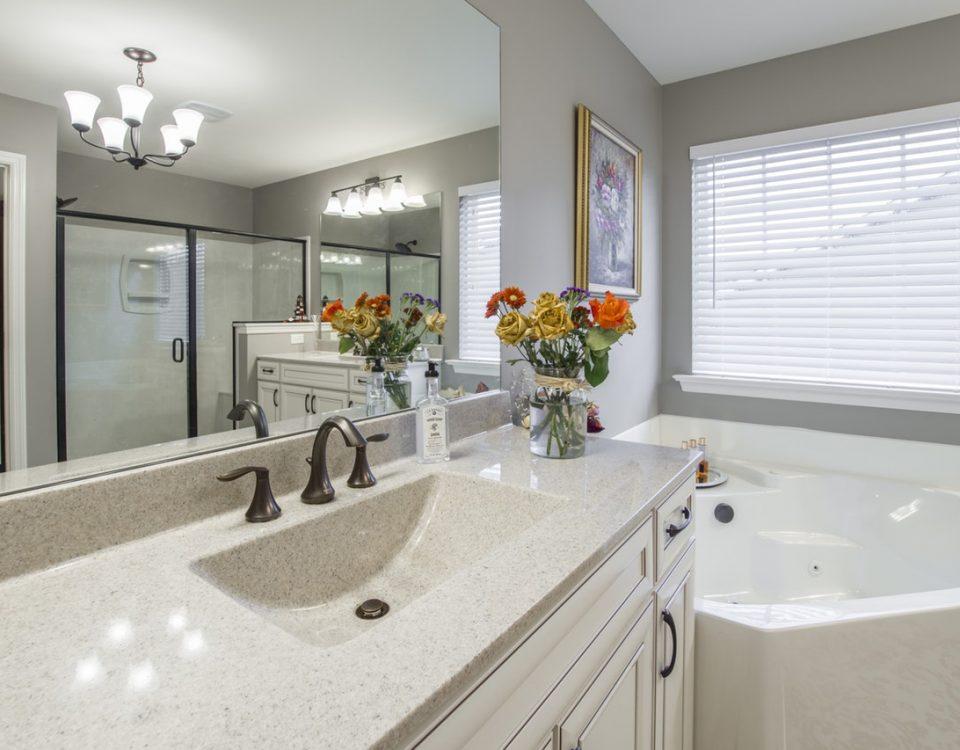 rolety plisowane do łazienki